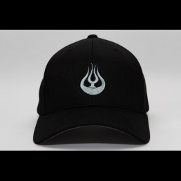 Hat Flame Black Front