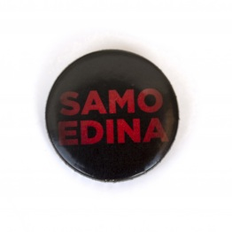 Edina Badge Red